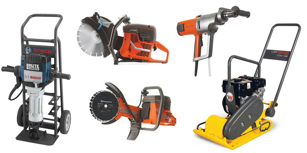 Tool rentals in Wilmington & Middletown DE